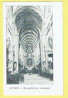 * Antwerpen - Anvers - Antwerp * (VED 322) église Saint Paul, Intérieur, Binnenzicht Sint Paulus Kerk, Church, Autel - Antwerpen