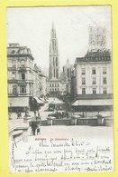 * Antwerpen - Anvers - Antwerp * La Cathédrale, Kathedraal, église, Kerk, Church, Animée, Tram, Vicinal Café Neptune - Antwerpen
