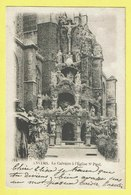 * Antwerpen - Anvers - Antwerp * (Wereldpostvereeniging, Nr 11) Le Calvaire à L'église St Paul, Croix, Jesus, Rare, Old - Antwerpen