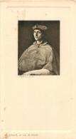 MENU ANCIEN  RAPHAEL   PINX  A. GIRARD 22 RUE DE CONDE BON ETAT - Menus