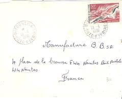 Cote D'Ivoire :- DIEGONEFLA Cachet Perlé Sur Lettre - Ivory Coast (1960-...)