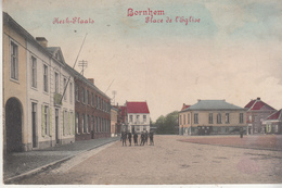 Bornem - Bornhem - Kerk-Plaats - Geanimeerd - Uitgave Josch Van De Velde/Marcovici - Bornem