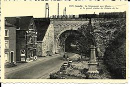 Rochefort 1429 Jemelle Le Monument Aux Morts Et Le Grand Viaduc Du Chemin De Fer - Rochefort
