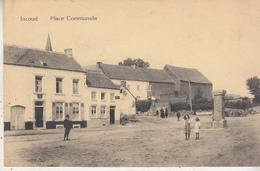 Incourt - Place Communale - Animé - Edit. Henri Kaquet, Montegnée - Incourt