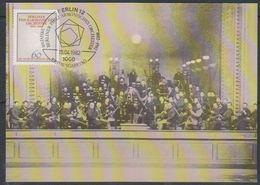 Berlin 1982 Berliner Philharmonisches Orchester 1v Maximum Card (38331) - Maximum Kaarten