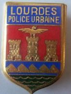 INSIGNE COMMISSARIAT PN LOURDES - Police