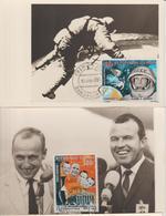Mali Carte Maximum 1966 Cosmonautes PA 33-35 - Mali (1959-...)