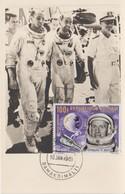 Mali Carte Maximum 1966 Cosmonautes PA 33 - Mali (1959-...)