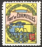 VP34 Fort De Cormeilles  Delandre - Vignettes Militaires