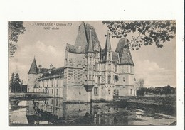 61 MORTREE CHATEAU D O CPA BON ETAT - France