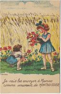 63 Souvenir De MONTBOISSIER Enfants Illustrateur Chanonat - France
