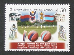 SRI LANKA 2006 SPORT CRICKET MATCH CENTENARY SET MNH - Sri Lanka (Ceylon) (1948-...)