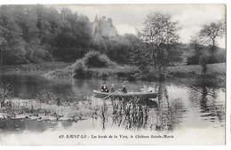 50 - SAINT LÔ - Le Château Sainte-Marie Sur Les Bords De La Vire      H - Saint Lo