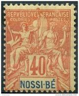 Nossi-bé (1894) N 36 * (charniere) - Nossi-Bé (1889-1901)
