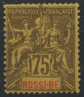 Nossi-Be (1894) N 38 * (charniere) (Dent Manquante En Haut A Gauche) - Nossi-Bé (1889-1901)
