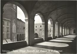 X1630 Fabriano (Ancona) - Piazza Vittorio Emanuele Dal Loggiato Di San Francesco / Non Viaggiata - Italia