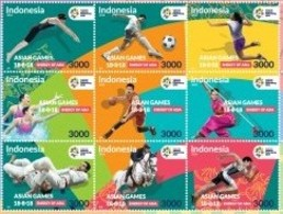 IHI - Indonesia MNH  Asian Games 2018 - Indonesia
