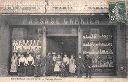 ¤¤  -  FONTENAY-le-COMTE  -  Passage Garnier  -  Personnel Du Bazar   -  ¤¤ - Fontenay Le Comte