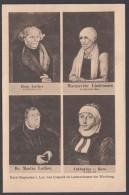 """Luther :  AK """"Luther Mit Eltern Und Frau"""", 20er Jahre, Ungebraucht - Christentum"""
