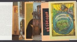 """Luther :  """"Ehrung 1983 In Der DDR"""", Seltenes Mäppchen Mit 8 Farbigen Ansichtskarten - Christentum"""