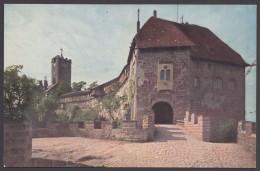 """Luther :  Farbige AK """"Wartburg, Eingang"""", 20er Jahre - Christentum"""
