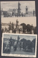 "Luther :  3 AK ""Worms,Lutherdenkmal"", 1909, 1929 Und 1932 - Christentum"