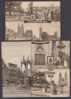 """Luther :  3x AK """"Wittenberg, Lutherstadt"""", Alle Aus 1970 - Christentum"""