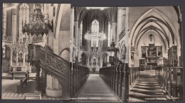 "Luther :  3x AK ""Wittenberg, Schloßkirche"", Je Innenansicht, 1966/7 - Christentum"