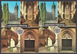 """Luther :  2x AK """"Wittenberg, Lutherstadt"""", 1971 Und 1982, 1x Gelaufen - Christentum"""