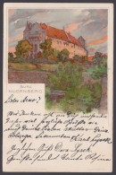 "Luther :  AK ""Nürnberg-Burg"", Farbig, 1905 Gelaufen - Christentum"