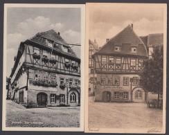 """Luther :  2 X AK """"Eisenach"""", Lutherhaus, 20er Und 50er Jahre - Christentum"""