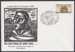 """Luther : """"Luther-Salon"""", Coburg, 1983, Pass. Sst. - Christentum"""
