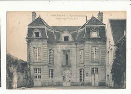 61 MORTAGNE RUE SAINTE CROIX HOTEL STYLE LOUIS 14 CPA BON ETAT - Mortagne Au Perche