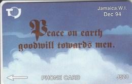 Jamaica - Peace On Earth - December 94 (New Logo) - 19JAMC - Jamaica
