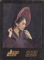 CALENDARIC. 1991 FASHION. LADY IN THE HAT. *** - Calendari