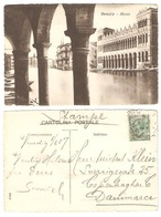 ITALY - VENICE - VENEZIA - MUSEO - Posted From Venice To Copenhagen 1907 - - Venezia (Venice)
