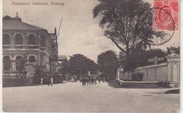 MALAYSIE : PENANG . CP . CAD . D'HOTEL EASTERN ET ORIENTAL . 1910 . - Penang
