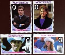 Montserrat 1986 Royal Wedding MNH - Montserrat