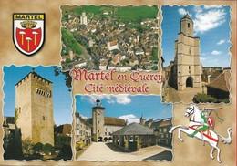 46 - Lot - Martel En Quercy - Cité Médiévale - Multivues - France