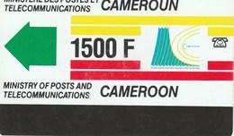 Cameroon - Definitive Card - New Logo (no Notch) 1500F - Cameroon