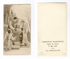 Le Dorat, Communion Solennelle De Jean Montauloy, 1946 - Images Religieuses