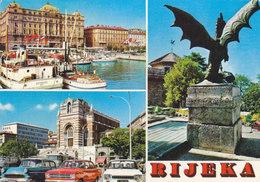 Rijeka - Multiview -  Old Cars , Ford Taunus Opel Rekord 1972 - Croatia