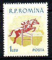 ROUMANIE. N°1647 De 1959. Equitation. - Jumping