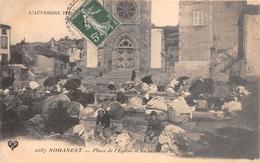 ¤¤  -  NOHANENT   -  Place De L'Eglise Et Les Laveuses  -  Lavoir    -  ¤¤ - France