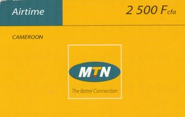 Cameroon - MTN The Better Connection 2500 - Cameroon