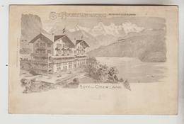 CPA BEATENBERG (Suisse-Berne) - Hôtel Oberland - BE Berne