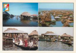 BENIN Le Village Lacustre   10   (scan Recto-verso)KEVREN0629 - Benin
