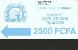 Ivory Coast - Blue Logo - Notched 2500 - Ivory Coast
