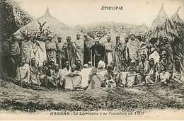 Harrar : La Léproserie - Lepreux - Ethiopia