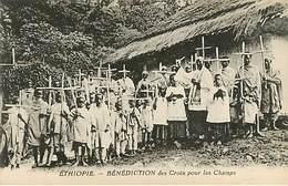 Ethiopie : Bénédiction Des Croix Pour Les Champs - Ethiopia